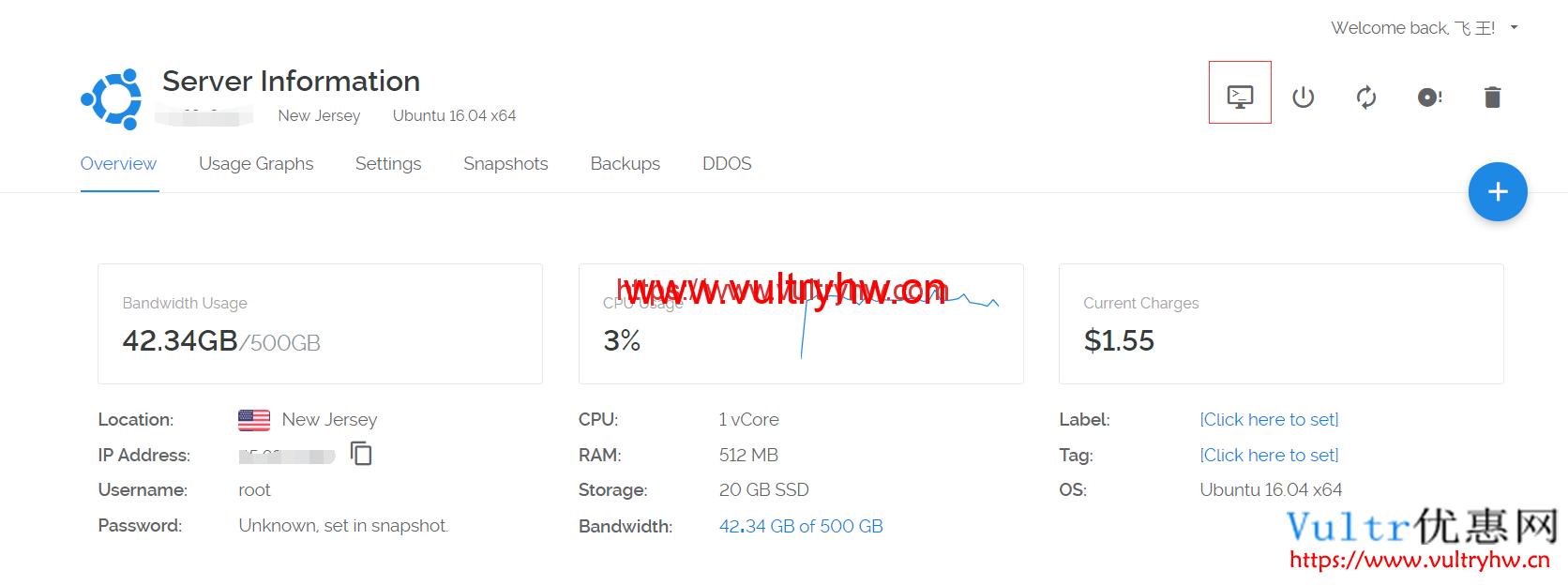 Vultr在线SSH工具