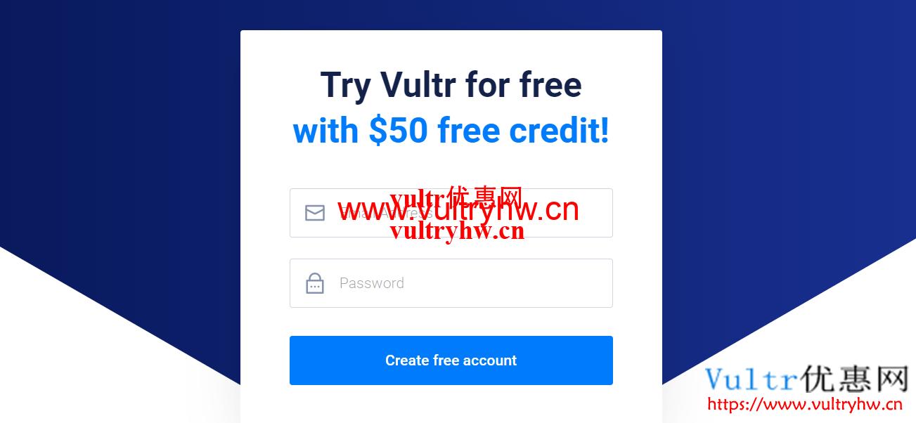 Vultr新用户50美元